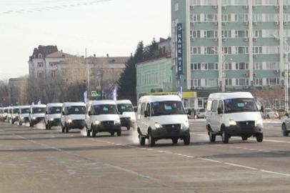 30 новых машин скорой помощи отправились в районы Приамурья