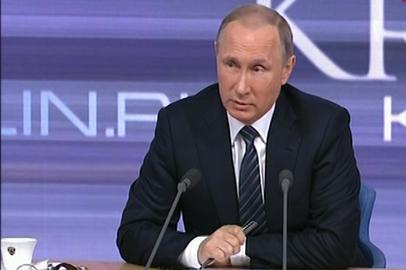 Владимир Путин затронул тему строительства космодрома Восточный во время пресс-конференции