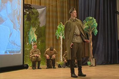 Творческие коллективы Благовещенского района представили рассказ о безымянном солдате