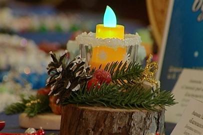 Благовещенцев научили делать новогодние подарки своими руками