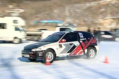 В Благовещенске прошел турнир по зимним автогонкам