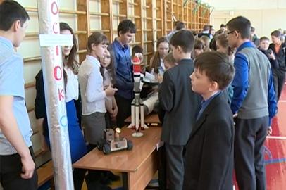 Благовещенские школьники-изобретатели представили макеты ракет и самолетов