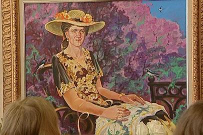 Амурский художник Вадим Кондратьев посвятил выставку своей матери