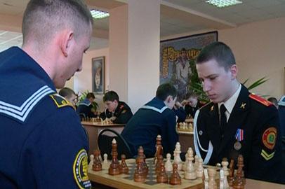 Кадеты обыграли курсантов Морского госуниверситета на  турнире по шахматам