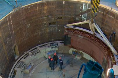 На Нижне-Бурейской ГЭС приступили к монтажу первых двух гидроагрегатов