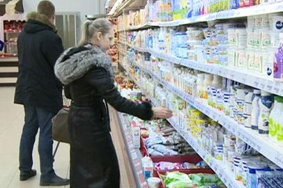 Прилавки амурских магазинов заполнились местными продуктами