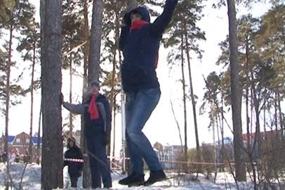 В Белогорске провели военно-спортивную игру «Зарница: мобилизация»