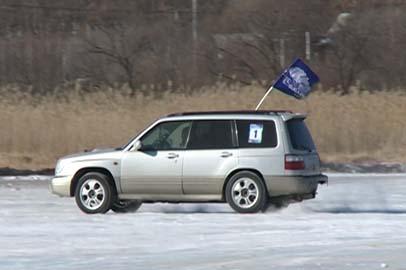 В Приамурье определились чемпионы по зимним ледовым автогонкам
