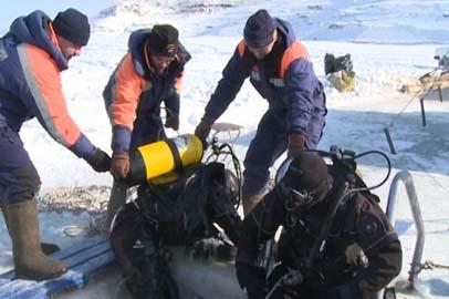 Амурские и хабаровские спасатели проводят тренировку на водохранилище БГЭС