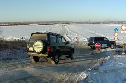 В Приамурье закрыли две ледовые переправы