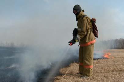 В Приамурье началась подготовка к пожароопасному сезону