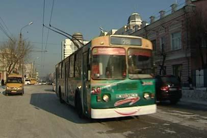Троллейбусы в Благовещенске начали курсировать без простоев