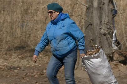 Из Благовещенска вывезли более 100 тонн мусора