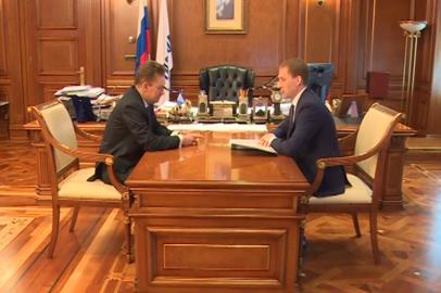 Перспективы газификации Приамурья губернатор области  обсудил с председателем правления «Газпрома»