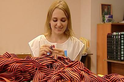 Сегодня в Приамурье начнут раздавать Георгиевские ленточки