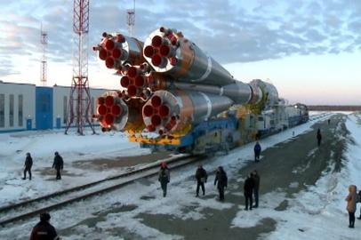 Вывоз «Союза-2» на стартовый комплекс запланирован на утро 23 апреля