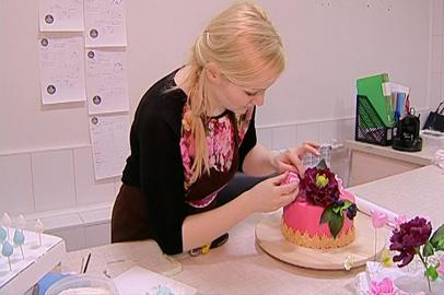 Знания геометрии применяет жительница Благовещенска при создании эксклюзивных тортов