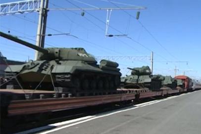 В Белогорске остановится агитпоезд «Армия Победы».