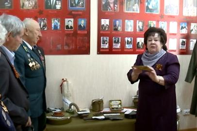 В благовещенском Совете ветеранов открылась Комната боевой славы