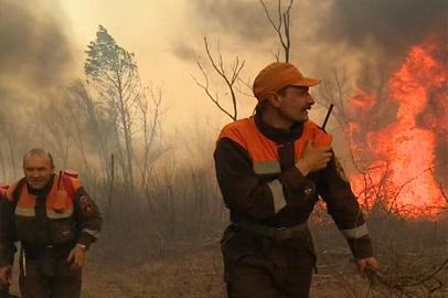 Территории сразу нескольких районов Приамурья в огне