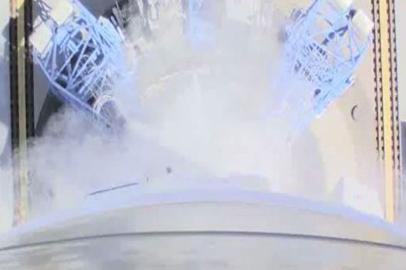 Роскосмос представил видео с бортовых камер запущенной на Восточном ракеты