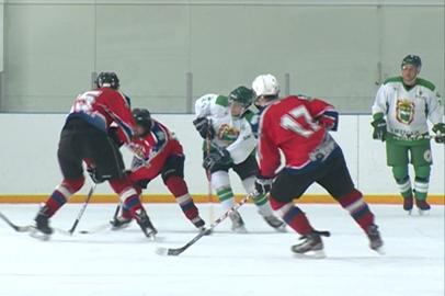 Юные хоккеисты благовещенского «Спартака» обыграли команду Сбербанка