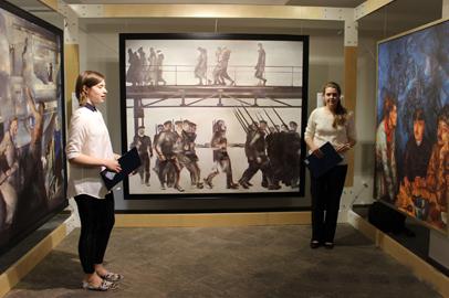 В Белогорске начал работать масштабный проект «Место встречи с искусством»