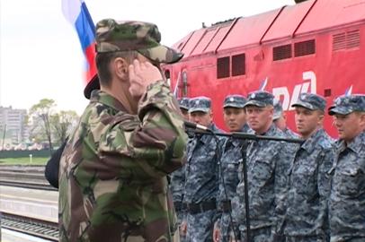 Амурские полицейские вернулись из командировки на Северный Кавказ