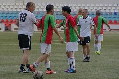 Амурские ветераны футбола обыграли сверстников из китайского Макао