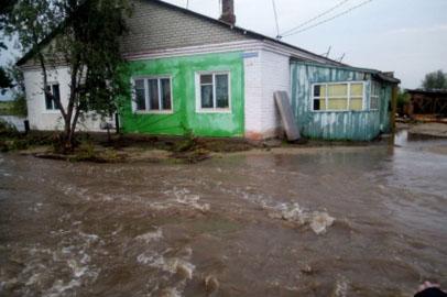 После прошедшего ливня режим ЧС ввели в трёх сельсоветах Белогорского района
