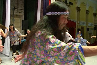 О повадках животных и птиц рассказали в танце благовещенцам гости с Камчатки