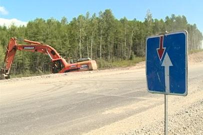 Ремонт участка трассы «Лена» неподалёку от Соловьёвска планируют завершить до конца сезона