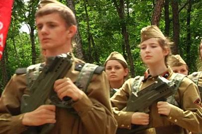 Амурские школьники поучаствовали в реконструкции советско-японского сражения
