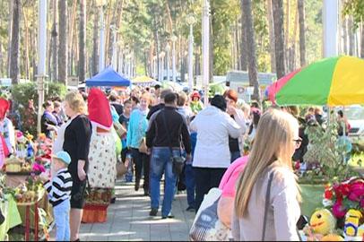Тонны овощей привезли сельчане на ярмарку в Белогорск