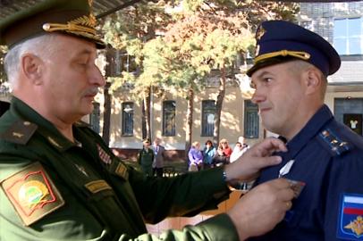 Медали «За спасение погибавших» удостоен офицер ДВОКУ