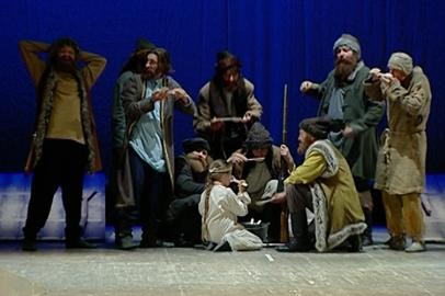 Амурский драмтеатр открыл сезон героической драмой «Горький хлеб Албазина»