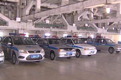 Сотрудники амурского УМВД сегодня получат 37 новых служебных машин