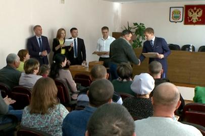 Сертификаты на бесплатные гектары вручили в Завитинском и Серышевском районах
