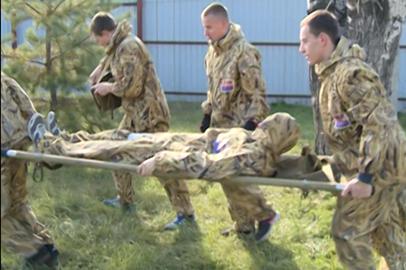 Амурские парни приняли участие в патриотической игре