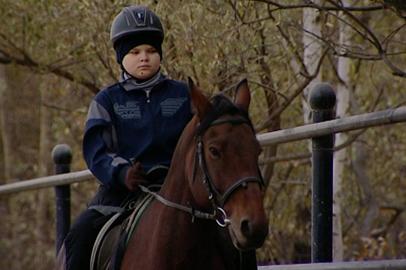 Дети с особенностями здоровья поучаствовали в соревнованиях по конному спорту