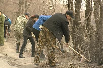 Благовещенские активисты организуют субботник в районе лагеря имени Гагарина