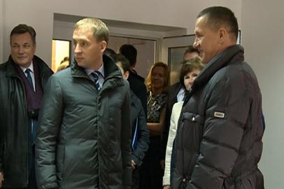В Приамурье работает федеральный вице-премьер Юрий Трутнев