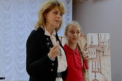 Любовь Казарновская провела мастер-класс для хора «Детство»