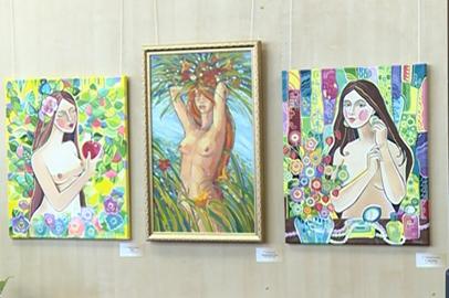 Амурские художники представили работы в стиле ню