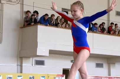 Юные благовещенские гимнасты продемонстрировали свое мастерство