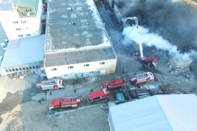 При тушении склада пиротехники пострадали трое сотрудников МЧС