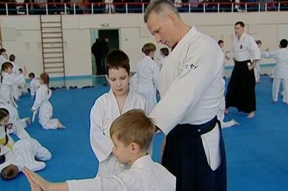 Столичный тренер по айкидо провел семинар для амурских коллег