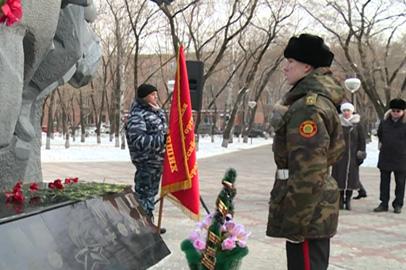 В Благовещенске почтили память погибших в чеченских войнах
