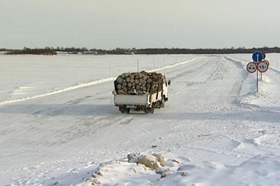 В Зейском районе открылась ледовая переправа через реку Деп