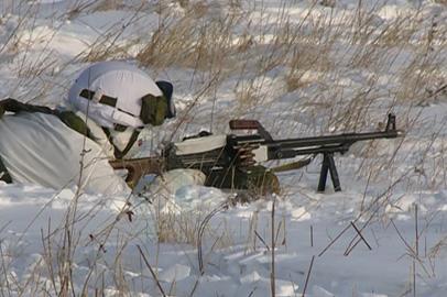 Сезонные тренировки курсантов-арктиков проходят на полигоне ДВОКУ